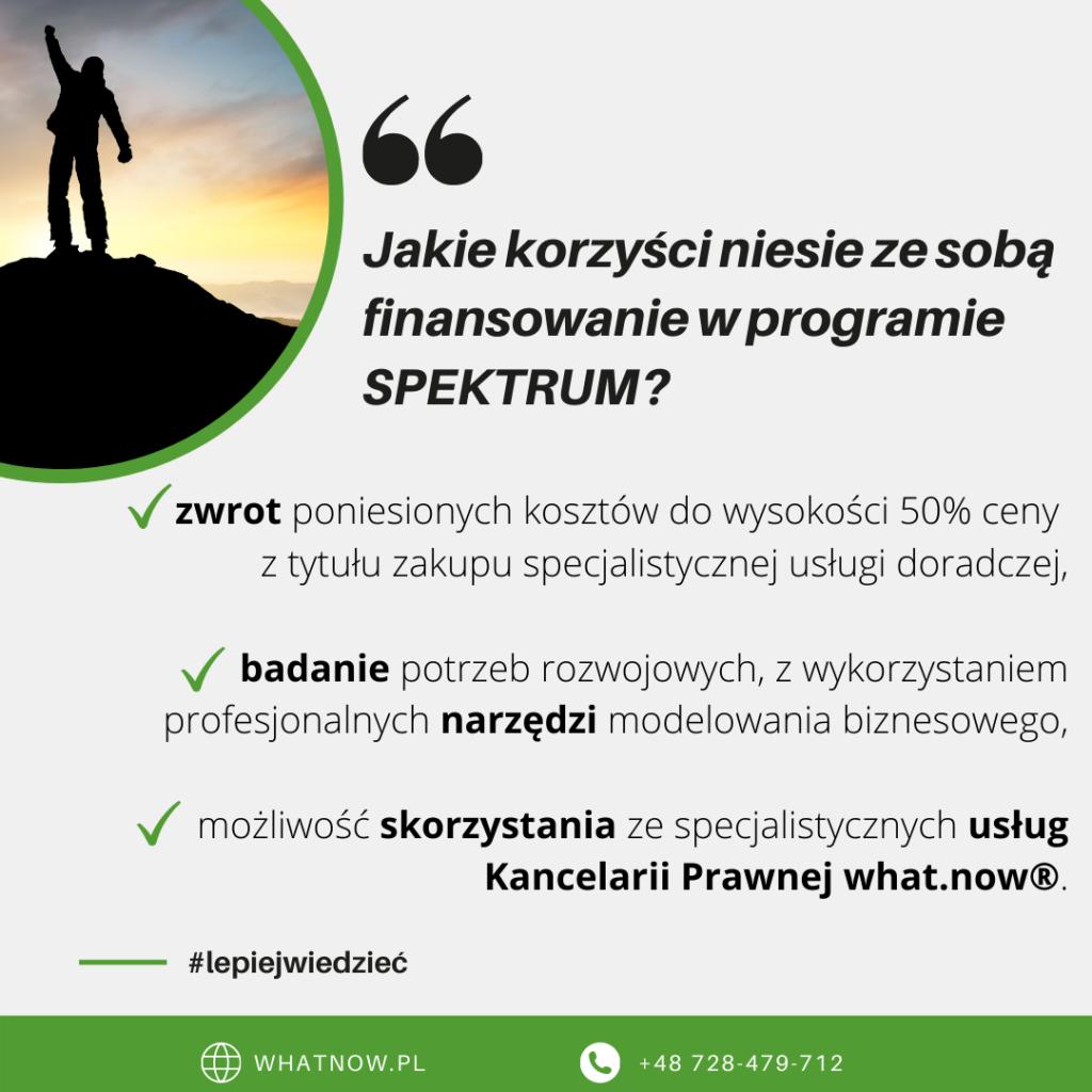 program spektrum korzyści